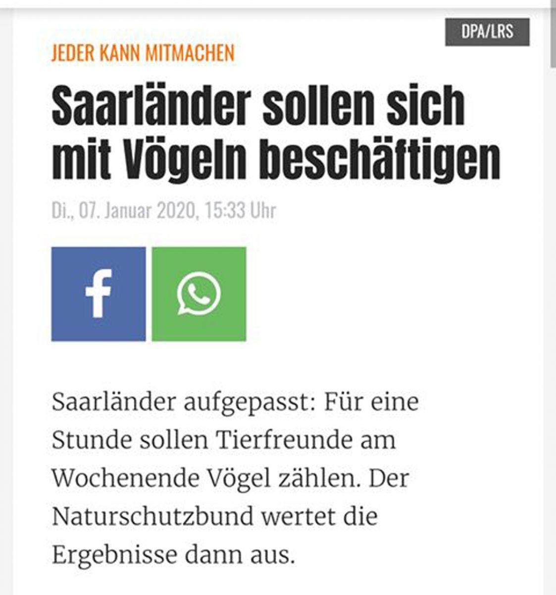 """""""Sonst stirbt das Saarland irgendwann aus"""", sagte der Heimatminister auf einer Pressekonferenz. - Dank an Jan Patzschke."""