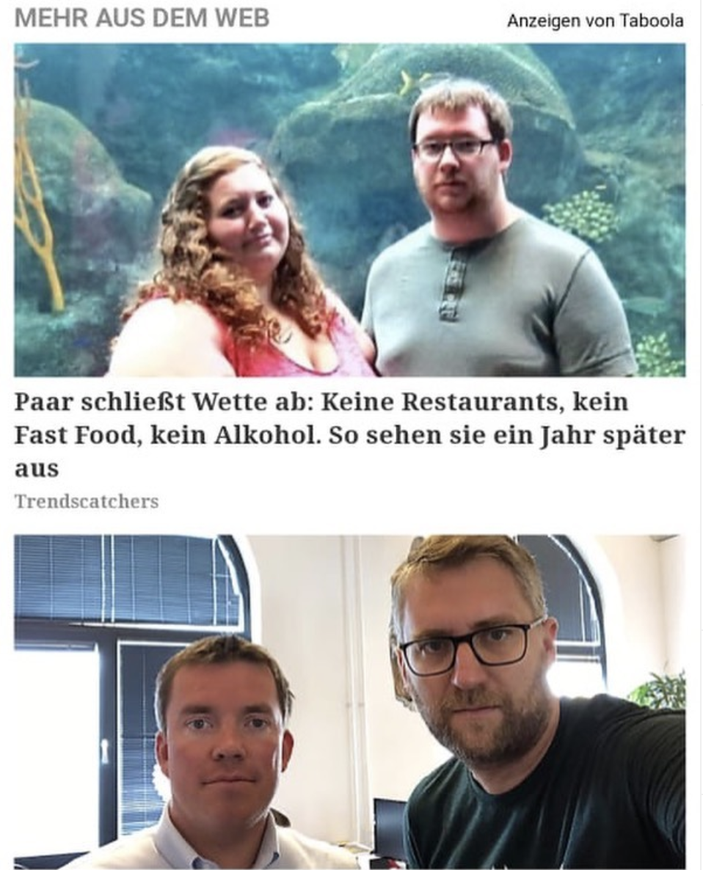 Oh mein Gott! Dann lieber doch Restaurants, Fast Food und Alkohol! - Dank an Tobias Naumann.